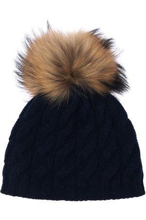 Il gufo Virgin Wool Hat W/ Fur Pompom