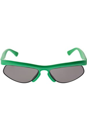 Bottega Veneta Women Sunglasses - Sporty Oval Acetate Sunglasses
