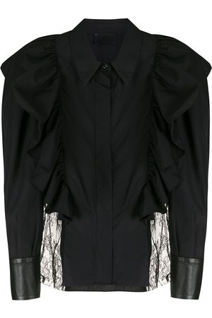 Andrea Bogosian Women Shirts - Valete ruffled-trim shirt