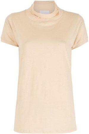 Andrea Bogosian Vogo high-neck T-shirt - Neutrals