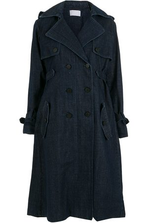 Andrea Bogosian Women Trench Coats - Vall denim trench coat