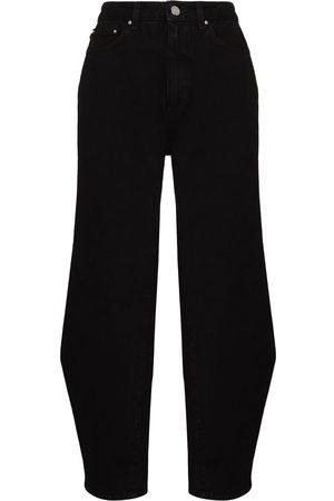 Totême Women Wide Leg - Barrel wide-leg jeans