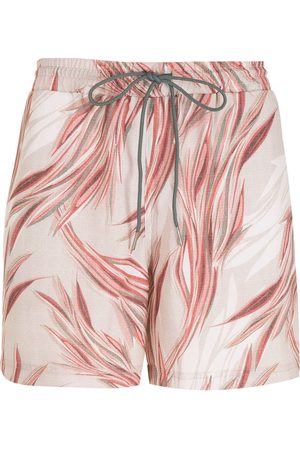 Lygia & Nanny Gil print shorts - Neutrals