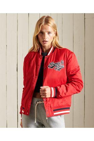 Superdry Women Bomber Jackets - Varsity Bomber Jacket