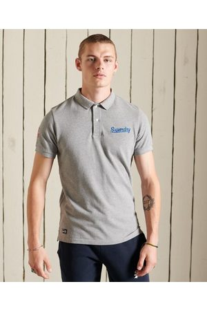 Superdry Men Polo Shirts - Organic Cotton Superstate Short Sleeve Polo Shirt