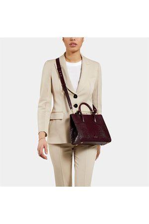 STRATHBERRY Women Tote Bags - Women's Midi Croc Tote Bag