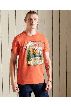 Superdry Men T-shirts - Heritage Mountain T-Shirt