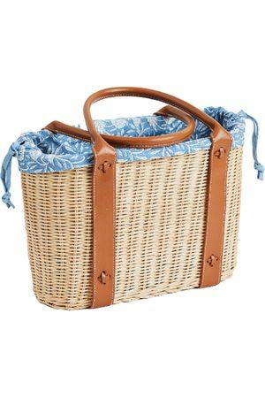 Amanda Lindroth Women Tote Bags - Batik Palm Beach Tote Liner