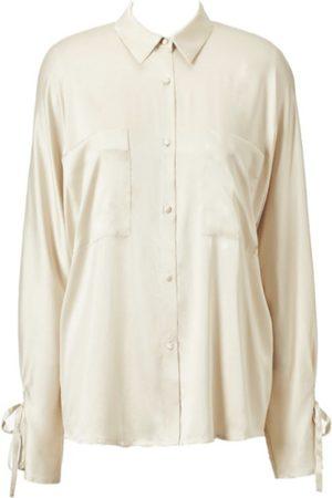 TOVE Quinn Silk Button Up Shirt