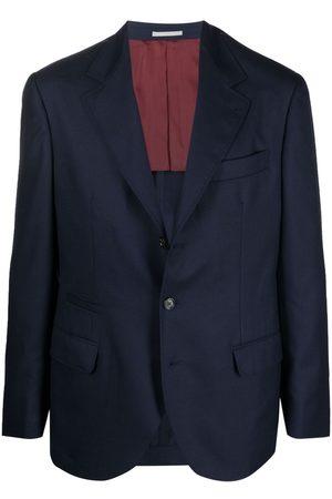 Brunello Cucinelli Cashmere single-breasted blazer