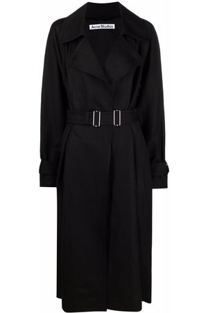Acne Studios Belted-waist trench coat