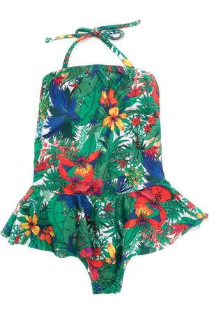 Amir Slama Printed swimsuit