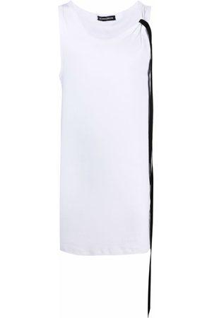 ANN DEMEULEMEESTER Shoelace-tie vest