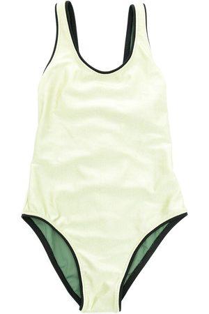 Lygia & Nanny Girls Swimsuits - Emilia plain swimsuit