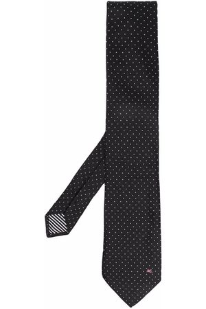 Etro Polka dot-print silk tie