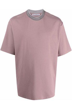 Acne Studios Logo binding crew-neck T-shirt