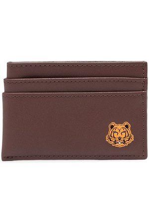 Kenzo Men Wallets - Logo-patch cardholder