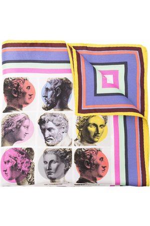 ETRO Pop art print silk pocket square