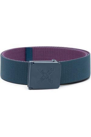 Kenzo Engraved-logo buckle belt