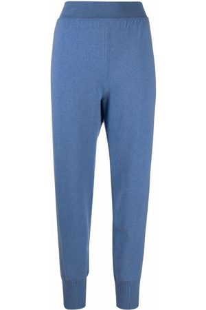 Alberta Ferretti Women Sweatpants - High-rise knitted sweatpants