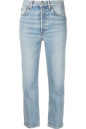 RE/DONE Women Stretch - Comfort Stretch cropped jeans