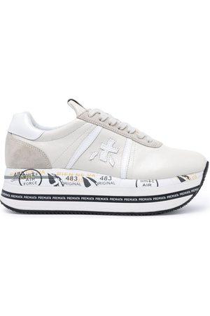 Premiata Women Platform Sneakers - Beth platform sneakers - Grey