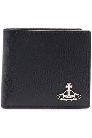 Vivienne Westwood Men Wallets - Logo plaque bifold wallet