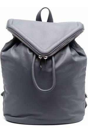 Bottega Veneta Beak leather backpack - Grey