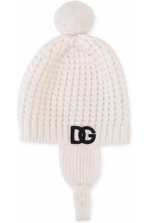 Dolce & Gabbana Beanies - Chunky knit wool beanie