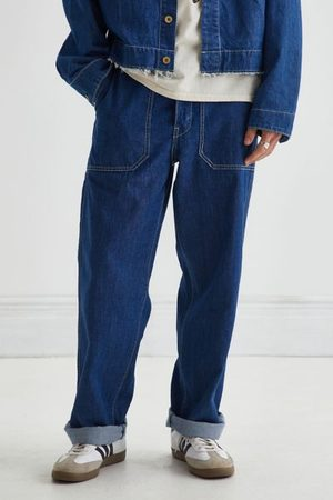 Levi's Men Dungarees - Stay Loose Cutoff Overall Jean - Clean Breaks