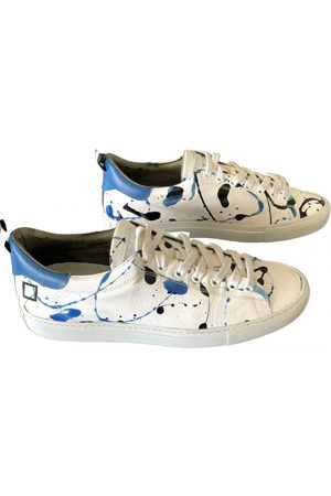 D.A.T.E. Leather low trainers