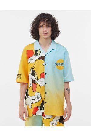 Bershka Coordinating Sylvester print shirt in