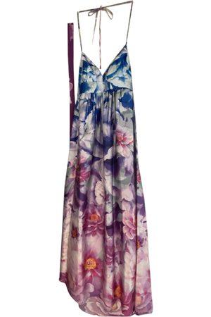 By Malina Silk maxi dress
