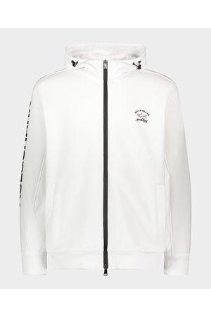 Paul & Shark Men Hoodies - Organic Cotton Full Zip Hoodie With Printed