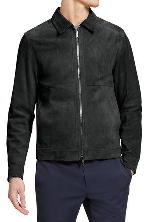 THEORY Men's Lambskin Suede Jacket