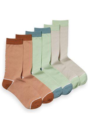 Scotch&Soda Men's 3-Pack Cotton Blend Socks