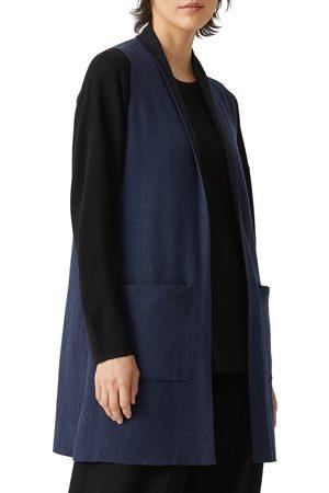 Eileen Fisher Women's Organic Cotton Blend Vest