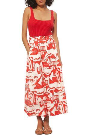 Mara Hoffman Women's Graphic Print Skirt