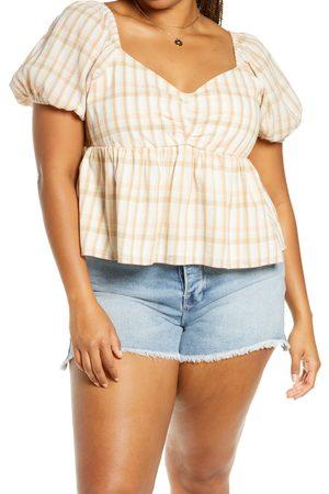 BP. Plus Size Women's Babydoll Top