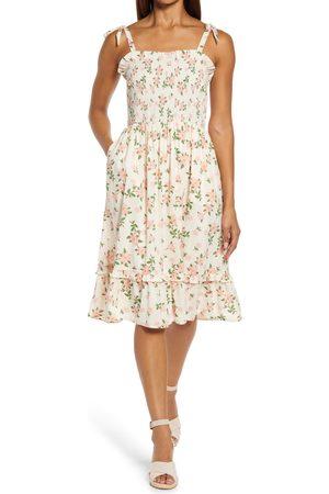 Draper Women's Taylor Magnolia Print Sundress