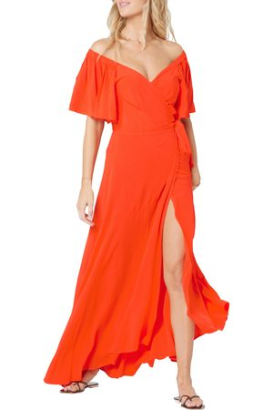 L*Space Women's Panama Cover-Up Wrap Dress