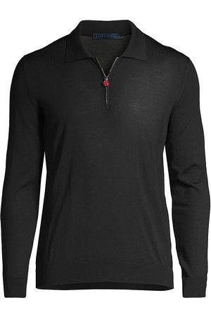 Kiton Quarter Zip Wool Sweater