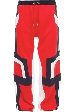 Balmain Embossed Logo Cotton Sweatpants