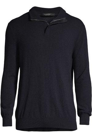 Ermenegildo Zegna Cashmere Collared Sweater