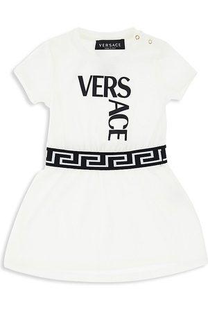 VERSACE Baby & Little Girl's Logo-Print Jersey Dress