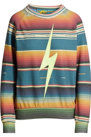AVIATOR NATION Serape Bolt Stitch Sweatshirt