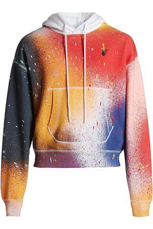 OFF-WHITE Paint Splatter Hoodie Sweatshirt