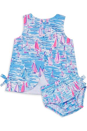 Lilly Pulitzer Baby Girl's Lilly 2-Piece Dress & Bloomers Set