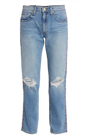 Ramy Brook Rosie Boyfriend Mid-Rise Jeans