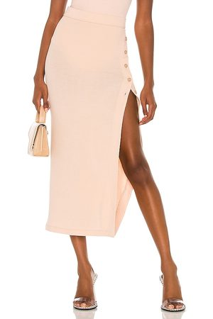 Alix NYC Fordham Skirt in Nude.